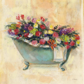 Carol Rowan - Bathtub Bouquet I