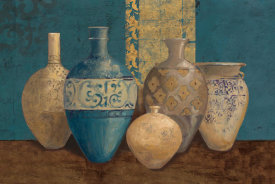 Avery Tillmon - Aegean Vessels on Turquoise