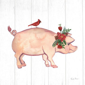 Farida Zaman - Holiday Farm Animals I