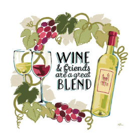 Janelle Penner - Wine and Friends V on White