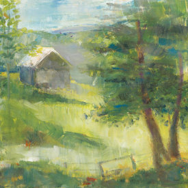 Sue Schlabach - Gray Barn