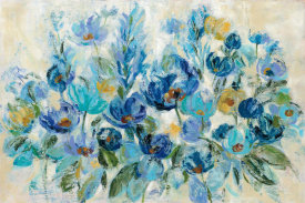 Silvia Vassileva - Scattered Blue Flowers