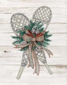 Kathleen Parr McKenna - Holiday Sports on Wood III Luxe