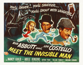 Hollywood Photo Archive - Abbott And Costello Meet The Invisible Man