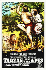 Hollywood Photo Archive - Tarzan of The Apes - 1915