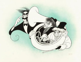 Hollywood Photo Archive - Marx Brothers - Cartoon - Tuba