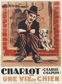 Hollywood Photo Archive - Charlie Chaplin - French - A Dog's Life, 1918