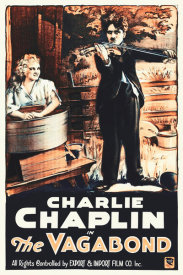 Hollywood Photo Archive - Charlie Chaplin - French - The Vagabond, 1916