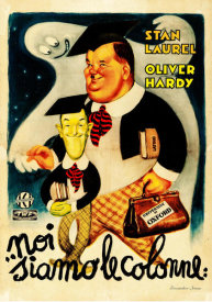 Hollywood Photo Archive - Laurel & Hardy - Italian - Further Perils of Laurel & Hardy, 1931