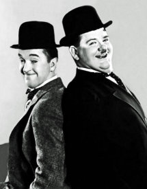 Hollywood Photo Archive - Laurel & Hardy - Portrait, 1933