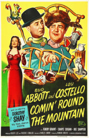 Hollywood Photo Archive - Abbott & Costello - Comin Round The Mountain