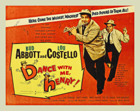Hollywood Photo Archive - Abbott & Costello - Dance With Me Henry