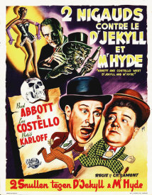 Hollywood Photo Archive - Abbott & Costello - French - Dr Jekyll And Mr Hyde