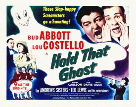 Hollywood Photo Archive - Abbott & Costello - Hold That Ghost