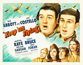 Hollywood Photo Archive - Abbott & Costello - Keep 'em Flying