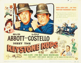 Hollywood Photo Archive - Abbott & Costello - Keystone Kops