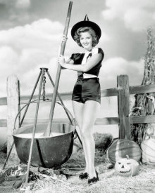 Hollywood Photo Archive - Halloween Witch - Martha Vickers