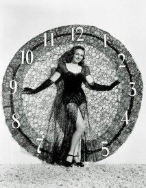 Hollywood Photo Archive - Happy New Year - Donna Reed