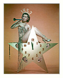 Hollywood Photo Archive - Happy New Year 1953 - Debbie Reynolds