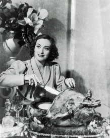 Hollywood Photo Archive - Thanksgiving - Joan Crawford