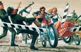 Mort Kunstler - Running the Blockade