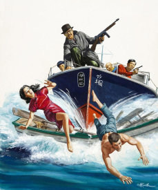 Mort Kunstler - Tokyo Sally and the Great Japanese Manhunt
