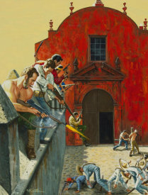 Mort Kunstler - The Rescue at Iglesia Roja