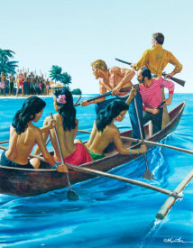 Mort Kunstler - The Tattooed Sailor Who Inherited an Island of Women