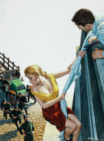 Mort Kunstler - The Bedsheet Escape