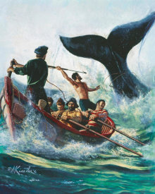 Mort Kunstler - Tail of a Whale