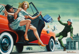 Mort Kunstler - The Kidnap King of the Berlin Wall
