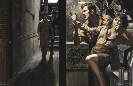 Mort Kunstler - Silence is Golden