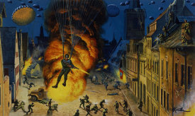 Mort Kunstler - Jumping Wildman of the 82nd Airborne