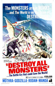 Hollywood Photo Archive - Destroy All Monsters, 1968