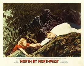 Hollywood Photo Archive - North by Northwest - Lobby Card