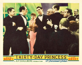Hollywood Photo Archive - Thirty Day Princess - Lobby Card