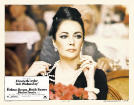 Hollywood Photo Archive - Elizabeth Taylor - Ash Wednesday - Lobby Card