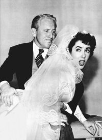 Hollywood Photo Archive - Father of the Bride - Elizabeth Taylor and Spencer Tracey