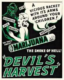 Hollywood Photo Archive - The Devil's Harvest - The Truth About Marijuana...The Smoke of Hell