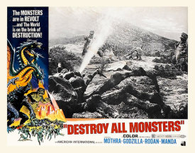 Hollywood Photo Archive - Destroy All Monsters Lobby Card