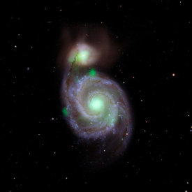 NASA Archive Photo - A Hard X-ray Look at M51