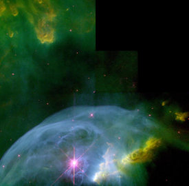 NASA Archive Photo - An Expanding Bubble in Space