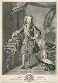 Jean Audran - Louis XV as a Boy