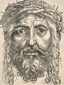 Timothy Cole - The Head of Christ Crowned with Thorns, 1500