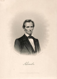 Timothy Cole - Abraham Lincoln, ca. 1860