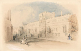 Thomas Creswick - Christ Church, Oxford, from St. Aldates, 19th century