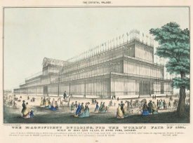 Nathaniel Currier - The Crystal Palace: The Magnificent Building, for the World's Fair of 1851