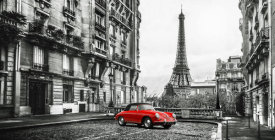 Gasoline Images - Roadster in Paris (Rouge)