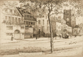 Walter William Burgess - Whistler's House in Chelsea