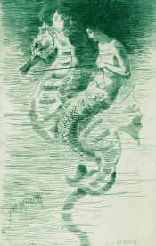 Frederick Stuart Church - The Mermaid, ca. 1881